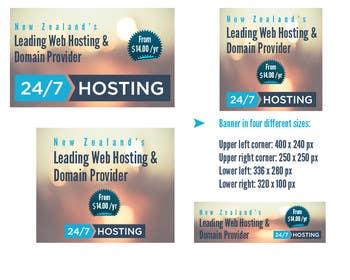 #8 for Design a Banner for Web Hosting Company by DennisLindblad