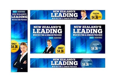 #22 for Design a Banner for Web Hosting Company by mayerdesigns