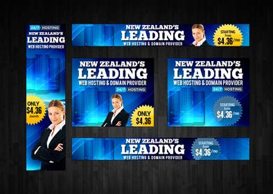 #23 for Design a Banner for Web Hosting Company by mayerdesigns
