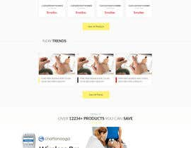 Nro 15 kilpailuun Design a Website Mockup käyttäjältä Hamzu1