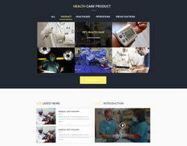 Nro 10 kilpailuun Design a Website Mockup käyttäjältä saepulgranz