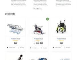 Nro 21 kilpailuun Design a Website Mockup käyttäjältä Mockupmastr