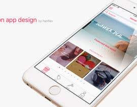 Nro 30 kilpailuun Design an App UI/UX käyttäjältä hanfiev
