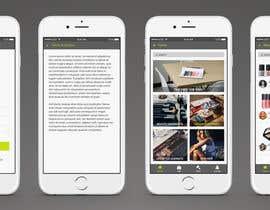 Nro 2 kilpailuun Design an App UI/UX käyttäjältä Envire
