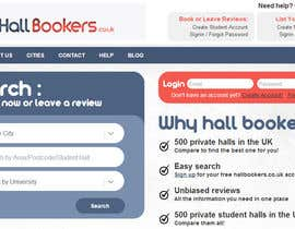 #102 untuk Design a Logo for HallBookers.co.uk oleh OnClickpp