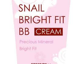 nº 21 pour Packing design for Cosmetic ( BB Cream) par amrspeed