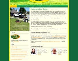 #4 para Build a Website for Mow Dayton por webidea12