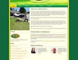nº 7 pour Build a Website for Mow Dayton par webidea12