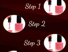 #5 para Design a flyer for a nail product with a four step process. por umamaheswararao3