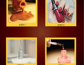 #3 for Design a flyer for a nail product with a four step process. by prologo4u