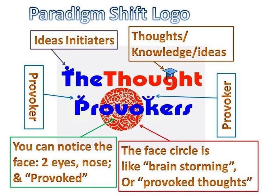 Penyertaan Peraduan #                                        51                                      untuk                                         Logo Design for The Thought Provokers