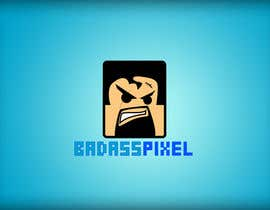 "#49 untuk Design a cartoon Logo for game society ""badasspixel"" oleh dragonarm"
