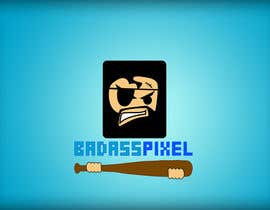 "#50 untuk Design a cartoon Logo for game society ""badasspixel"" oleh dragonarm"
