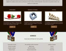 Nro 19 kilpailuun Copy existing website content and improvde design / replace logo käyttäjältä rajeev2005