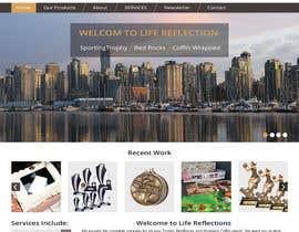 Nro 29 kilpailuun Copy existing website content and improvde design / replace logo käyttäjältä imranwebdesigner