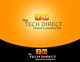nº 68 pour Logo Design for The Tech Direct par piyumishra
