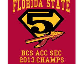#8 for Design a T-Shirt for FSU BCS Champs by tjayart