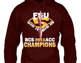 #20 for Design a T-Shirt for FSU BCS Champs by keraleeyan