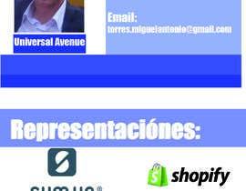 Nro 8 kilpailuun Diseño de Tarjeta de Visita Personal käyttäjältä aldomar123