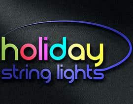 ninaekv tarafından Logo for website called 'holiday string lights' için no 96