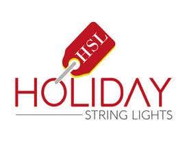 marcelorock tarafından Logo for website called 'holiday string lights' için no 101