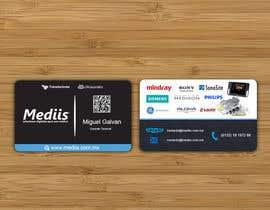 Nro 16 kilpailuun Diseñar tarjeta de presentación para empresa de venta de equipo médico käyttäjältä DesignsMR