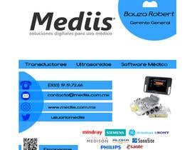 Nro 12 kilpailuun Diseñar tarjeta de presentación para empresa de venta de equipo médico käyttäjältä anb1809