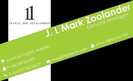 Penyertaan Peraduan #13 untuk Design some Stationery for web design company