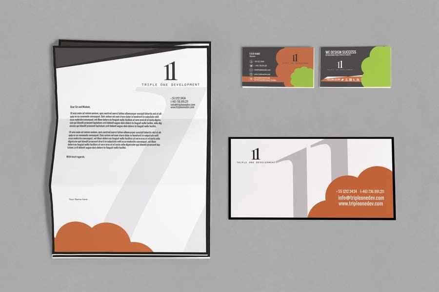 Penyertaan Peraduan #39 untuk Design some Stationery for web design company