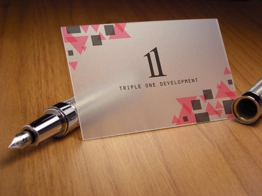 Penyertaan Peraduan #23 untuk Design some Stationery for web design company