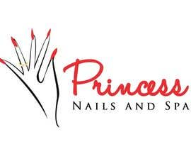 vishnuremesh tarafından Design a Logo for Princess Nails and Spa için no 52