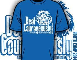"#117 untuk Design a T-Shirt with the slogan ""Deal Courageously"" oleh iYNKBRANE"