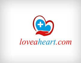 nº 97 pour Logo needed for new website loveaheart par RsSofts