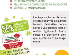 #9 for Flyer pour paysagiste by bab55z