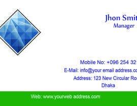 Nro 97 kilpailuun Design some Business Cards käyttäjältä litonrgc