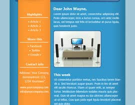 #36 para Photoshop Design for a dummy newsletter por giannoulasv