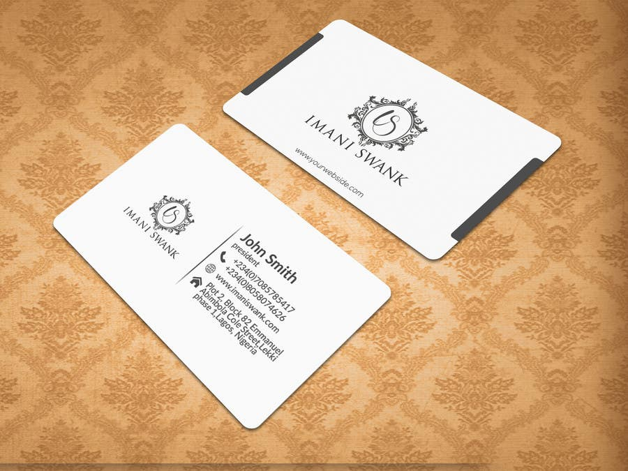 Entry 4 by tvds for business card for a bridal store freelancer contest entry 4 for business card for a bridal store reheart Gallery
