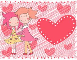 #21 for Illustrate background for Valentine by megasja