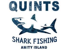 Nro 18 kilpailuun Design a Shark Fishing T-Shirt käyttäjältä saranyaarchi