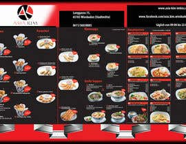 #1 for Design a 3 Folded Flyer A4 for a restaurant. by andrei11