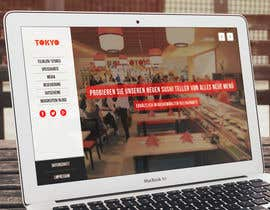 #50 for Design a Website Mockup for a Restaurant af eleopardstudios