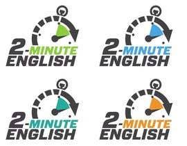 nº 147 pour Design a Logo for 2 minute English par izzrayyannafiz