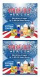 Kilpailutyön #16 pienoiskuva kilpailussa Email Marketing Banner For July 4th (US Holiday)