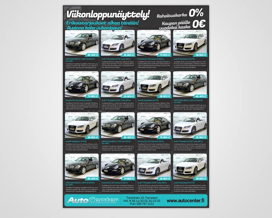 Entry 11 By Pixelke For Re Design Car Dealer Newspaper Ad S