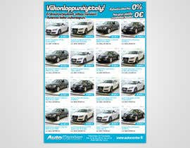 nº 29 pour Re-design car dealer newspaper ad's par pixelke