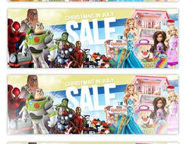#29 for Kids Toys Sale by ClaudiuTrusca