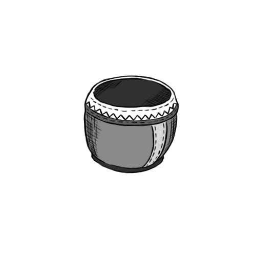 Bài tham dự cuộc thi #17 cho Draw the bongô / Conga contest! - repost