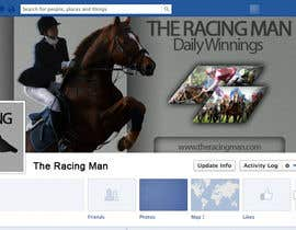 mogosalexandru tarafından The Racing Man - I need a Facebook Profile picture and cover photo designed için no 49