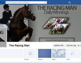 mogosalexandru tarafından The Racing Man - I need a Facebook Profile picture and cover photo designed için no 50