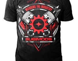 GMExodia tarafından T-Shirt Design for Subaru Performance Parts Business için no 46
